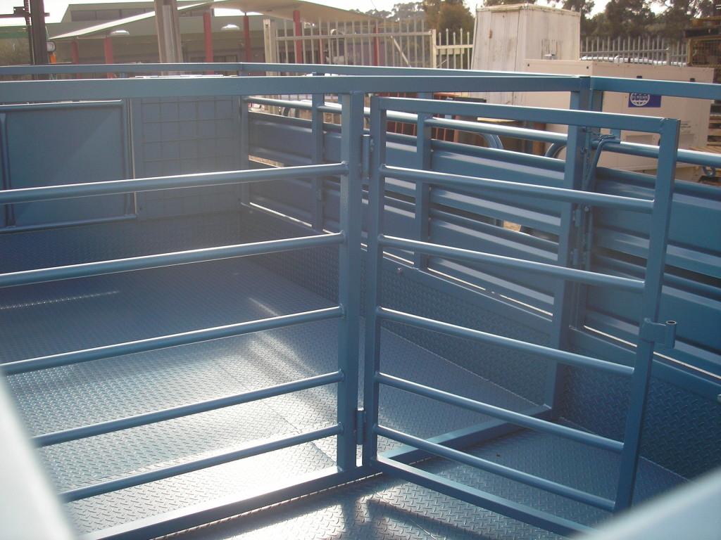 Major Trailors Pty Ltd Bendigo 187 Tandem Amp Sheep Crate